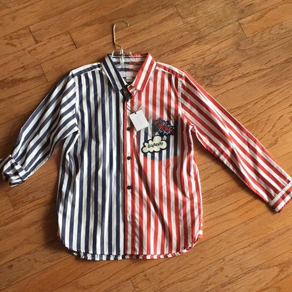 273782bc1a7c Burberry children button up shirt. 8y